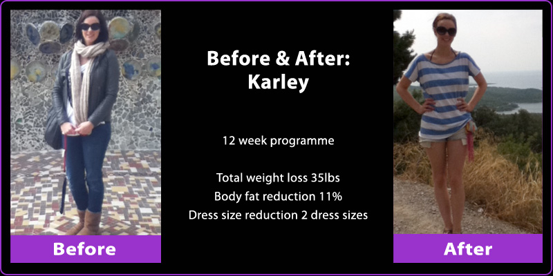 Personal Training Durham - Karley - Weight Loss Programme